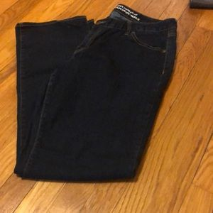 GAP curvy straight fit jeans